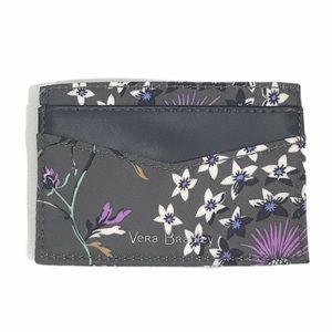 Vera Bradley Midtown Slim Card Case Dandelion Wish